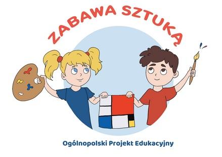 logo zabawa sztuka